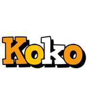 Koko cartoon logo