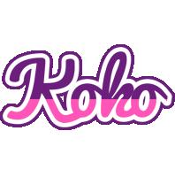 Koko cheerful logo