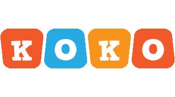 Koko comics logo