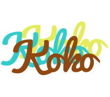 Koko cupcake logo