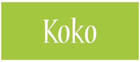 Koko family logo