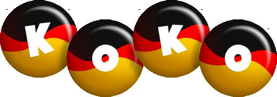 Koko german logo