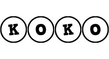 Koko handy logo