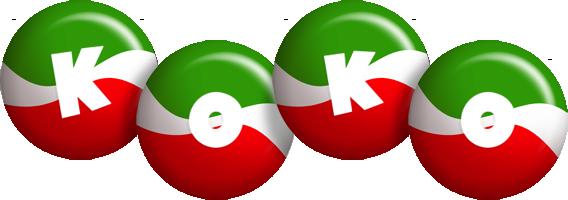 Koko italy logo