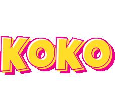 Koko kaboom logo