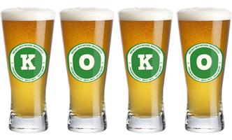 Koko lager logo