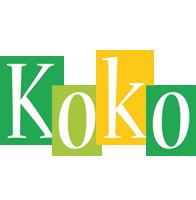 Koko lemonade logo