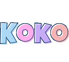 Koko pastel logo