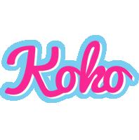 Koko popstar logo
