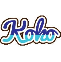 Koko raining logo