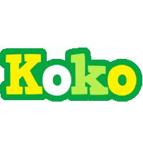 Koko soccer logo