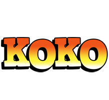 Koko sunset logo