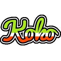 Koko superfun logo