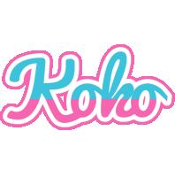 Koko woman logo
