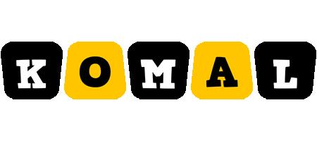 Komal boots logo