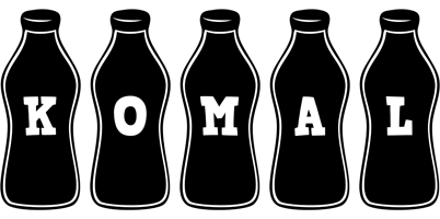 Komal bottle logo