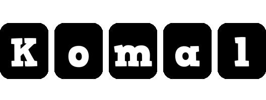 Komal box logo
