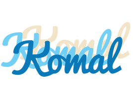 Komal breeze logo