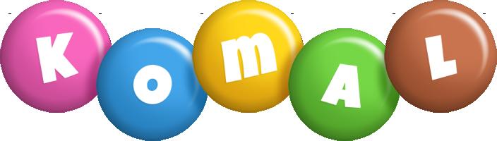 Komal candy logo
