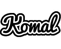 Komal chess logo