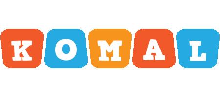 Komal comics logo