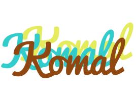 Komal cupcake logo