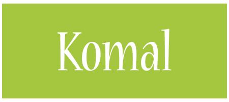 Komal family logo