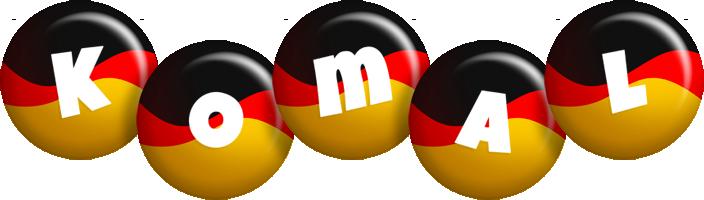 Komal german logo