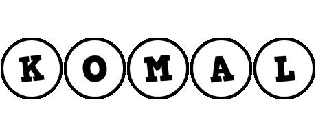 Komal handy logo