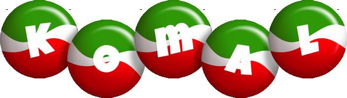 Komal italy logo