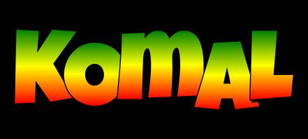 Komal mango logo