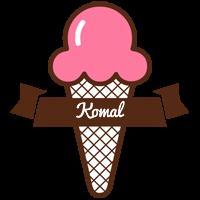 Komal premium logo