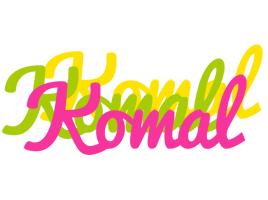 Komal sweets logo