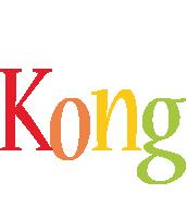 Kong birthday logo