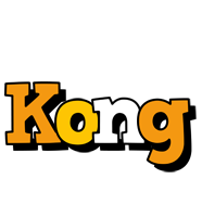 Kong cartoon logo