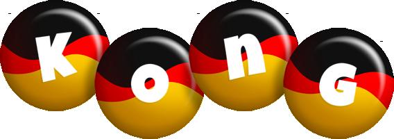 Kong german logo