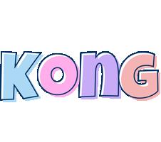 Kong pastel logo