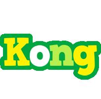 Kong soccer logo
