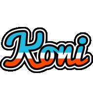 Koni america logo