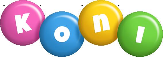 Koni candy logo
