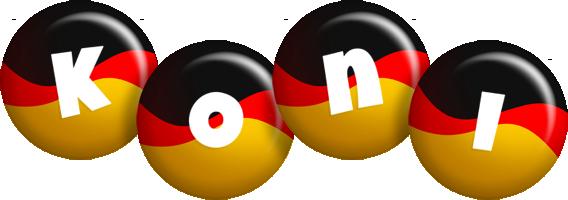 Koni german logo