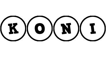 Koni handy logo