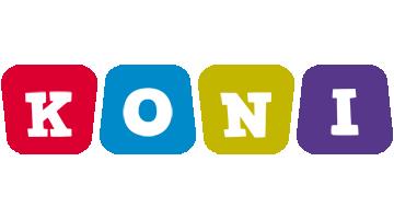 Koni kiddo logo
