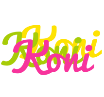 Koni sweets logo