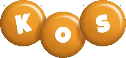 Kos candy-orange logo