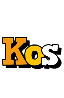 Kos cartoon logo