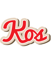 Kos chocolate logo