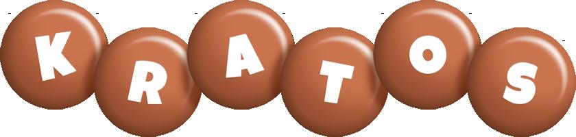 Kratos candy-brown logo