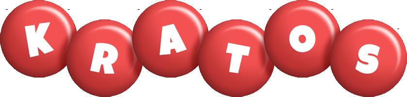 Kratos candy-red logo