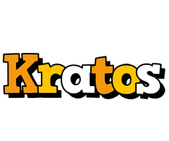Kratos cartoon logo